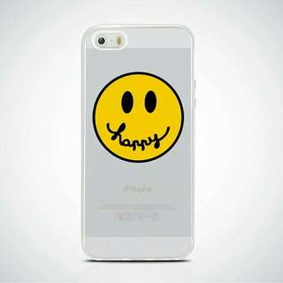 Smiley Printed Soft TPU Case