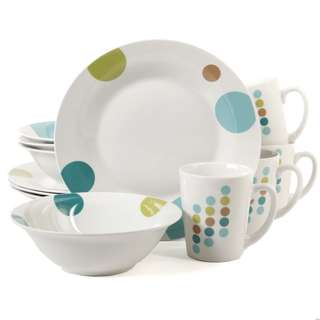 Gibson Home Retro Specks  Dinnerware