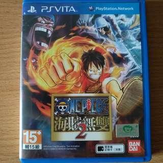Ps Vita Chinese One Piece Pirate Warrior 2