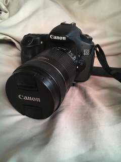 Canon 60D with 18-135 lens and 50mm.