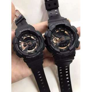 Couple Watch G-Shock & Baby-G