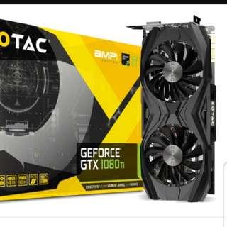 Gtx 1080 ti zotac amp and gigabytes