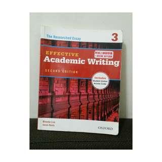Academic writing 3