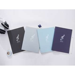 Music Notes Musical Notation Notebook
