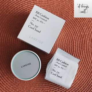 Laneige BB Cushion (with free refill)