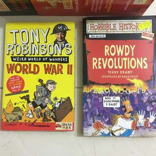 WWII & Horrible History