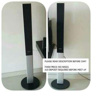 ♳Very New 2 x Samsung Standing Speakers