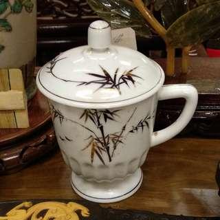 劉少奇年代 描金茶杯
