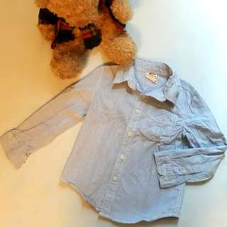 Cotton On Kids Long Sleeved Polo