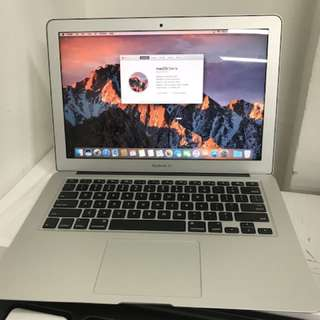 "99%New India Apple MacBook Air 13"" 128GB 8GB 1.8GHz i5 silver 2017,Warranty date 5-3-2019"