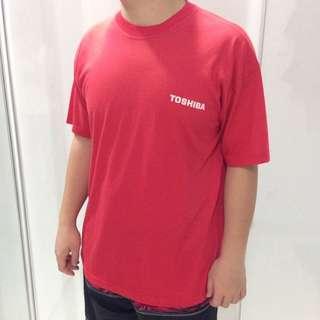 Kaos merah toshiba