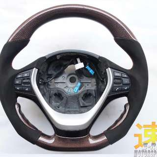 BMW 5 Series F10 Carbon Fibre Steering Wheel