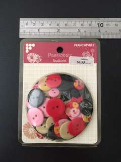 Buttons for craft, scrapbooking, card making & Sewing (BN)