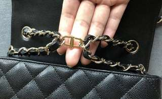Bag Clip for Chanel minis/woc