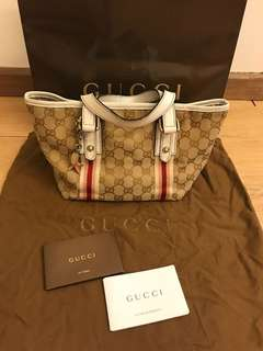 💯 Authentic Gucci tote bag For Let Go!!