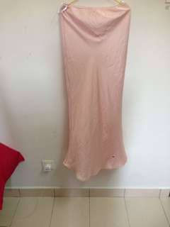 Mermaid Skirt size M satin
