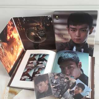 [In Stock] BIG BANG TOP The Commitment Photo Book and Behind the Scene DVD