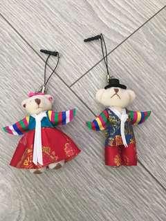 韓國傳統服公仔掛飾