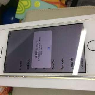 iPhone 5s  16G 二手八成新