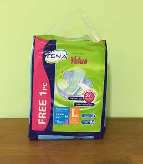 🌻 Tena Value Unisex Adult Diaper (L)