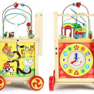 Multiactivity push walker