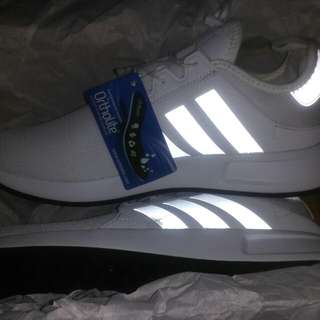 Adidas Original X Plr size 40.5 (UK 7) Warna All White