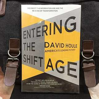 《Bran-New + America's Leading Futurist》David Houle - ENTERING THE SHIFT AGE : The End Of The Information Age And The New Era Of Transformation.