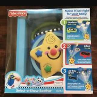 Fisher price projector with music lullaby