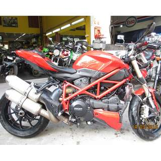 Ducati Streetfighter 848 2012 D/P $1500 or $500 With Out Insurance  (Terms and conditions apply. Pls call 67468582 De Xing Motor Pte Ltd Blk 3006 Ubi Road 1 #01-356 S 408700.