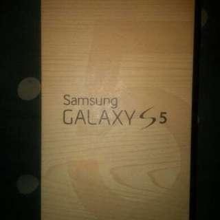 Samsung Galaxy S5 Dusbuk / Box Original sisa peninggalan