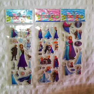 Frozen Stickers - Ana &Elsa