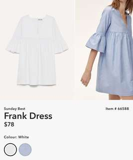 Aritzia Sunday's Best Frank Dress