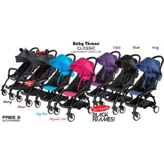 Original Baby Throne light weight CLASSIC Stroller