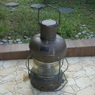 Antique Vintage Marine Ship Oil Lamp