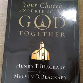 Your church experiencing God together by Henry Blackaby