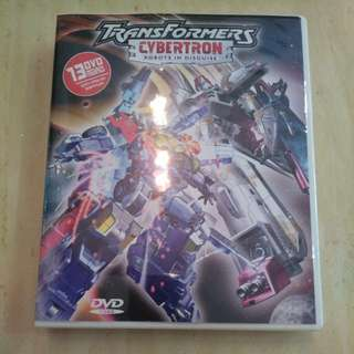 Transformers Cybertron 13DVD set, 52 episodes