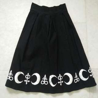 Gothic/Punk Witch Skirt