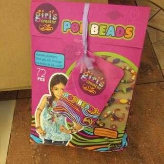 Pop beads jewelry