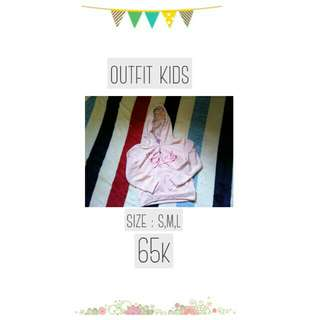 Jaket outfit kids