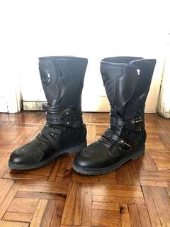 Italian Brand Motorcycle Boots (SIDI) for Men size12