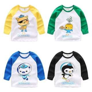Little Octonauts Long Sleeve Kid Top - GHR431
