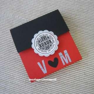 Love Wallet Scrapbook Card