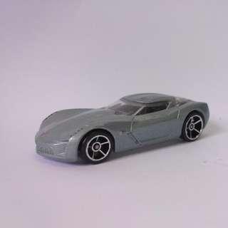 Hotwheels Corvette Sting Ray Concept Transformers Sideswipe Loose