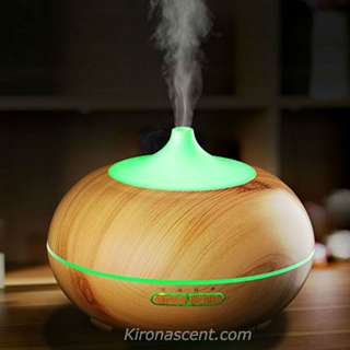[FREE ESSENTIAL OIL] AURORA DEW AROMA DIFFUSER & HUMIDIFIER. 7 LED NIGHT LIGHTS. AIR PURIFIER. GIFTS. HOUSEWARMING.