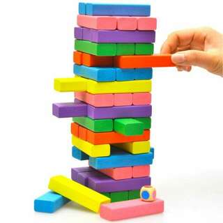 Color Jenga