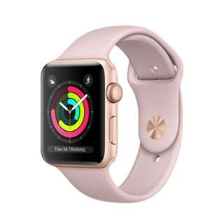 Apple Watch series 3, 42mm, pink sand