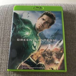 The Green Lantern Bluray
