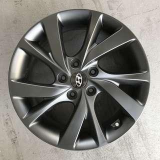 "Used 17"" Original Hyundai Rims"