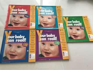 Your baby can read books ( 5 books)