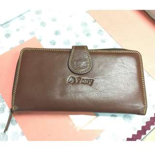 PONY Leather Wallet